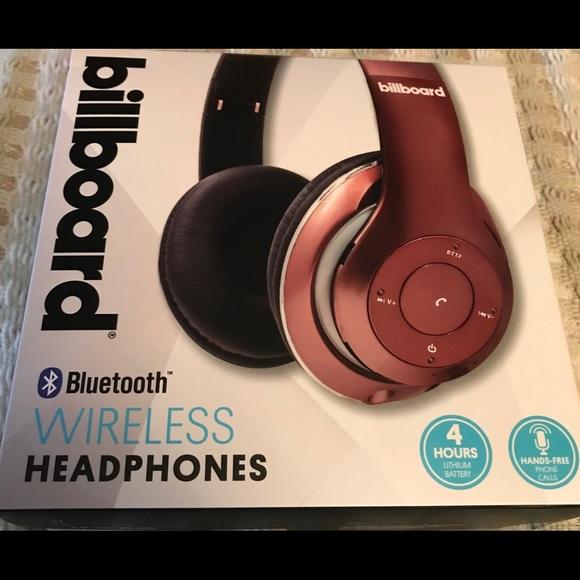 1084362a905 Billboard Accessories   Brand New Bluetooth Wireless Headphones ...